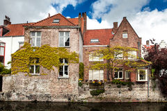 Architecture of Bruges city Royalty Free Stock Photography