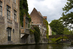Architecture, Brugge, Belgium. Royalty Free Stock Images