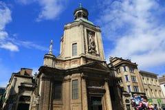 Architecture of Brussels, Belgium. Stock Images