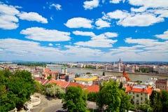Architecture of Budapest Stock Image
