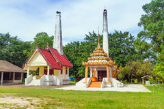 Architecture of buddhism temple Royalty Free Stock Photography