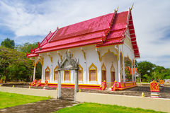 Architecture of buddhism temple Royalty Free Stock Image