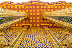 Architecture buddhism temple, Ancient City, Samutprakarn. Royalty Free Stock Images