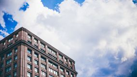 Architecture, Building, Clouds stock photo