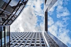 Architecture, Building, Clouds royalty free stock photos