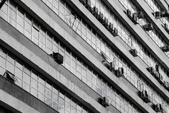 Architecture of building in the commercial center of Londrina Royalty Free Stock Photography