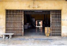 Architecture building vintage antique design facade rust door Royalty Free Stock Photo
