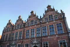 Architecture and buildings in Gdansk, Poland Royalty Free Stock Photography