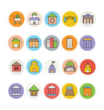 Architecture and Buildings Vector Icons 6 Stock Photo