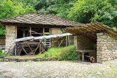 Architecture bulgare typique de la période de l'empiri de tabouret Images stock