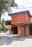 The architecture in Bulgarian town Koprivshtitsa Royalty Free Stock Photography