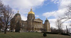 Architecture capitale de dôme de gouvernement de bâtiment de Des Moines Iowa photographie stock libre de droits
