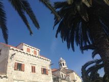 Architecture in Cavtat Royalty Free Stock Photos