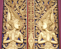 Architecture of a character in literature in thai painting style Royalty Free Stock Image