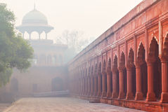 Architecture of Charbagh, or Mughal Garden in Agra, India Royalty Free Stock Photography