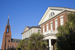 Architecture of Charleston Stock Photo