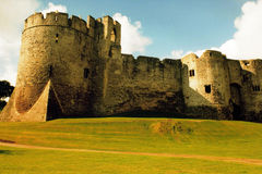 Architecture 005 Chepstow Castle Royalty Free Stock Photography