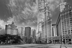 Architecture of Chicago. Stock Image
