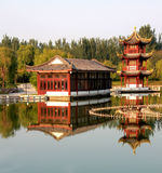Architecture of Chinese Classical Garden Royalty Free Stock Photography