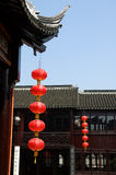 Architecture of Chinese temple Royalty Free Stock Photo