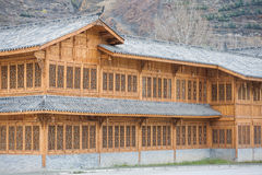 Architecture chinoise en bois photo stock image 42934605 for Architecture chinoise