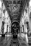 Architecture of a church of rome Royalty Free Stock Photo
