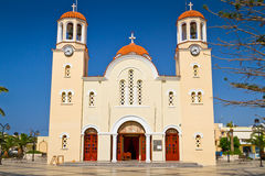 Architecture of churches on Crete Royalty Free Stock Photography