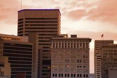 Architecture of Cincinnati stock photography