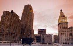 Architecture of Cincinnati Royalty Free Stock Image