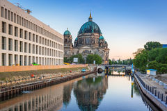 Architecture of city center in Berlin Royalty Free Stock Photos