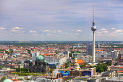 Architecture of city center in Berlin Stock Photography