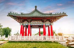 Architecture classique chinoise photo stock