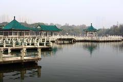 Architecture classique chinoise de jardin Photographie stock libre de droits