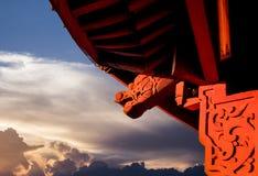 Architecture classique de la Chine Photographie stock
