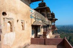 Architecture classique de Mughal Photographie stock