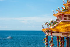 Architecture of the coast of Thailand. The architecture of the coast of Thailand Stock Photo