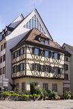 The architecture of Colmar city in Alsace, France Royalty Free Stock Photography