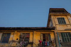 Architecture Colonial Phnom Penh, Cambodia Stock Images