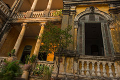 Architecture Colonial Phnom Penh, Cambodia Royalty Free Stock Photos