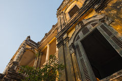 Architecture Colonial Phnom Penh, Cambodia Stock Photos