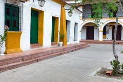 Architecture coloniale dans Mompox, Colombie Image stock