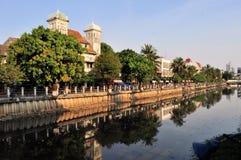 Architecture coloniale néerlandaise dans Kota, Jakarta Photos stock