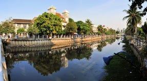 Architecture coloniale néerlandaise dans Kota, Jakarta Photos libres de droits