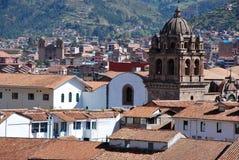 Architecture coloniale typique dans Cusco photo libre de droits
