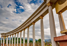 Architecture colonnade Stock Photos