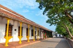 Architecture colorée dans Mompox Photographie stock