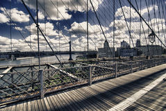 Architecture and Colors of New York City, U.S.A. Royalty Free Stock Photography
