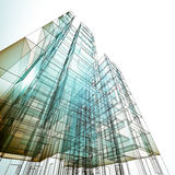 Architecture concept Royalty Free Stock Photos