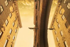 Architecture conceptual image. Stock Photography