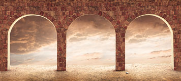 Architecture conceptual image. Stock Images